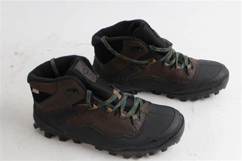 merrell mens boots size 10 property room