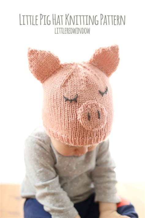knitted pig hat 290 best images about knitting patterns on