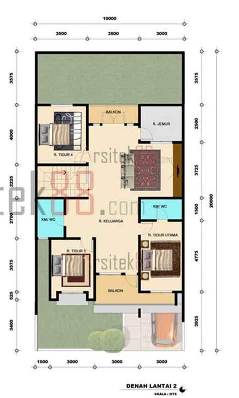 gambar rumah 2 lantai 5 kamar desainrumahsederhana