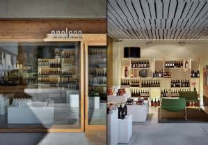 wine store design enolora wine shop by act romegialli chiuro italy