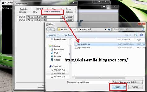 Memory Card Untuk Notebook cara setting memory card usb joystick ps1
