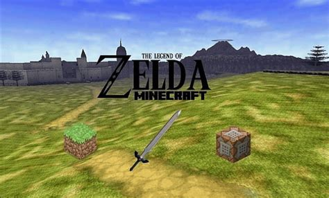 legend of zelda minecraft map seed legend of zelda minecraft adventure map download review