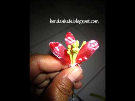 Gelang Tali Aquamarine 2 kreasi bunga dari tali rafia