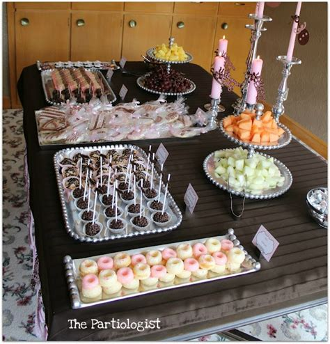 Pink And Brown Baby Shower Theme by Pink And Brown Baby Shower Theme Ideas