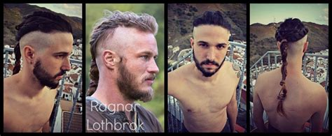 how did they do ragnar lothbroks hair style ragnar lothbrok hairstyle vikings youtube