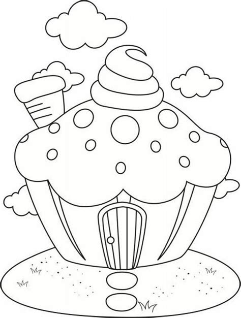 Button Shopkins 02 house of cupcake coloring page 13498 bestofcoloring