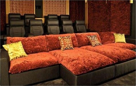 awesome home theater seating future pinterest