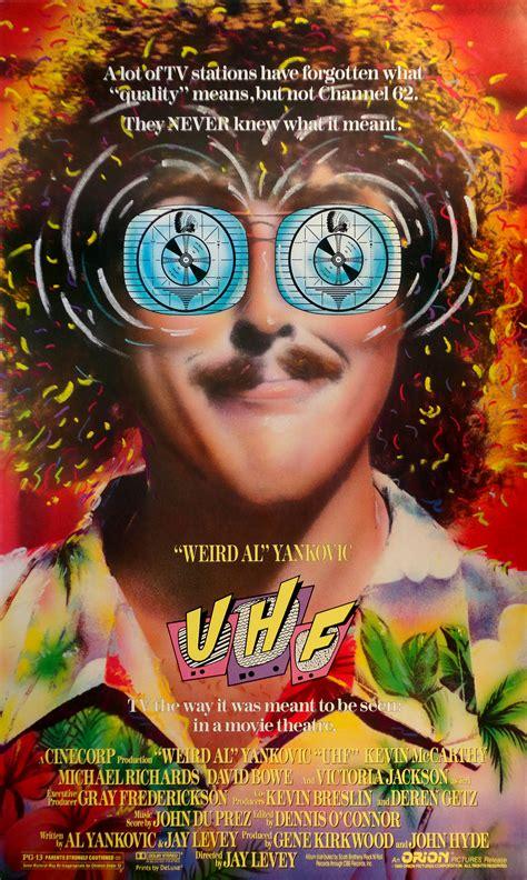 weird al yankovic uhf soundtrack uhf turns 25 a look back at weird al s cult classic