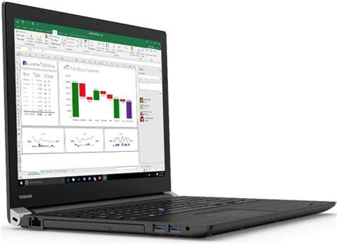 toshiba laptop tecra a50 02h01s intel i7 7th 7500u 2 70 ghz 8 gb memory 256 gb m 2