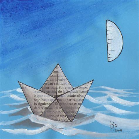 un barco de papel la fragata de papel barcos de papel otra vez sobre el