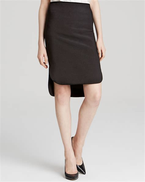 gray high low skirt bloomingdale s
