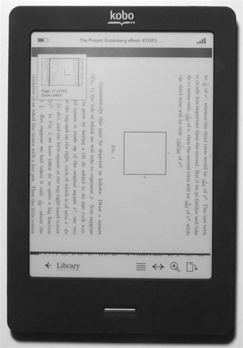 Kobo Touch Edition Review Page 2 - PDF Review, Web Browser
