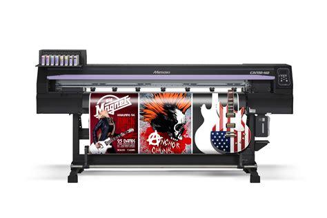 Tinta Mimaki large format eco solvent printer cutter cjv150 mimaki usa