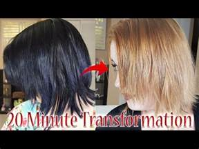 color opps black to hair in 20 minutes color demo