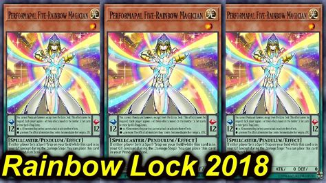 Lockdown Deck by Ygopro Rainbow Lockdown Deck 2018