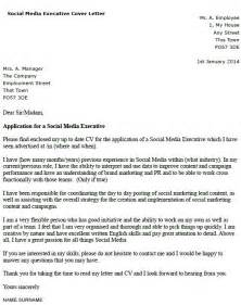 cover letter for media exle covering letter for media covering letter