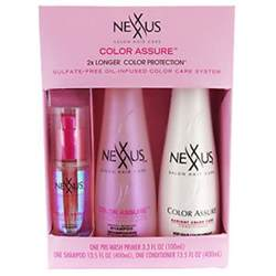 nexxus color assure pre wash primer nexxus color assure shoo conditioner pre wash primer 3