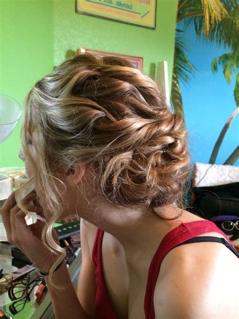 can you perm curls into bottom of hair 17 best images about prom formal on pinterest tease hair