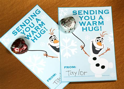 olaf printable valentines day cards free frozen valentine printable