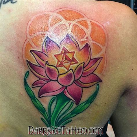 lotus tattoo shop color lotus by marissa falanga tattoonow