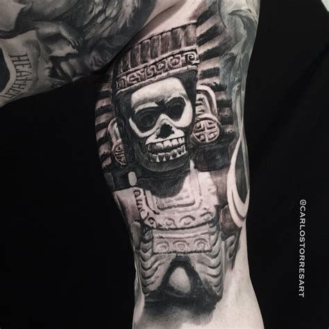 aztec god tattoos aztec god best ideas designs