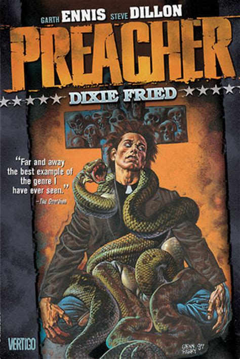 the preacher s letter books preacher volume 5 dixie fried by garth ennis reviews
