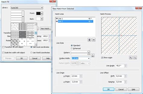 corel draw x7 hatch fill creating hatch patterns coreldraw x4 coreldraw