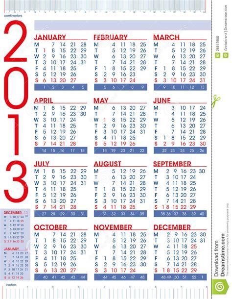 Kalender Englisch Kalender 2013 Auf Englisch Mit Tabellierprogrammen