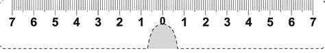 printable pupillary distance ruler ruler actual size print
