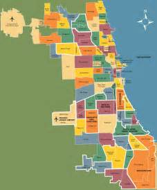 Map Of Chicago Neighborhoods by Chicago Neighborhood Map Outravelling Maps Guide