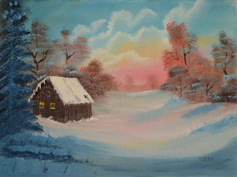 bob ross paintings and names bob ross lonely retreat paintings for sale bob ross lonely