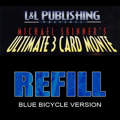 Refill Gift Card - refill cards for 3 card monte blue trick leading uk magic shop