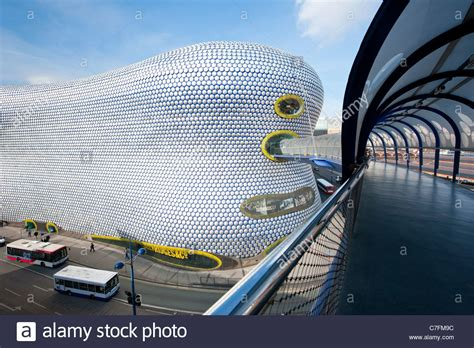 Cq Live Birmingham Hm Bullring Centre by Bridge To Selfridges At The Bull Ring Shopping Center