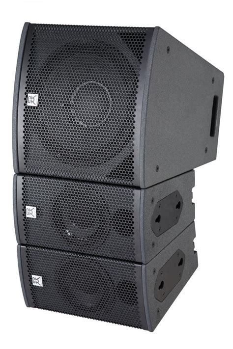 Speaker Mini Line Array 2 way line array sound system for club passive mini line