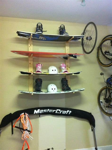 Wakeboard Storage Racks by Ski And Wakeboard Season Storage Racks Teamtalk