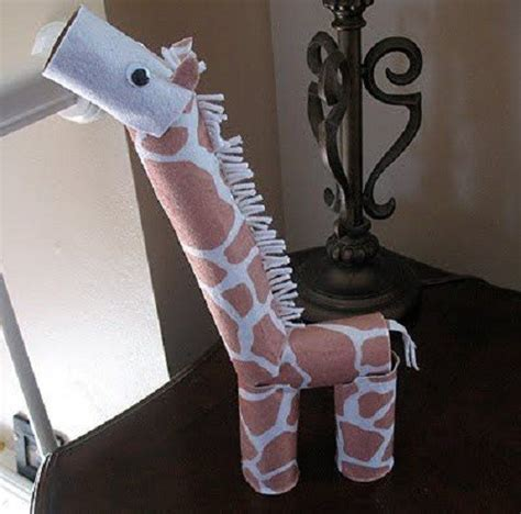 Toilet Paper Craft - diy animal craft ideas with toilet paper rolls home