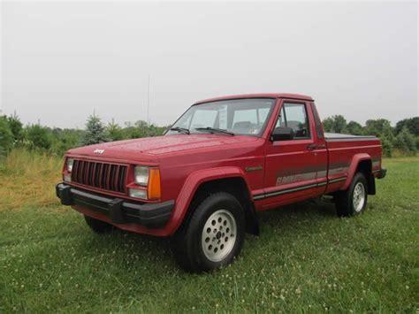 1992 jeep comanche eliminator vehicles