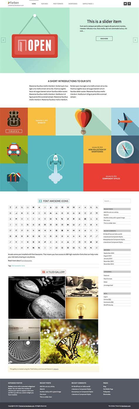 themes wordpress premium free 2014 farben premium wordpress theme bavotasan com