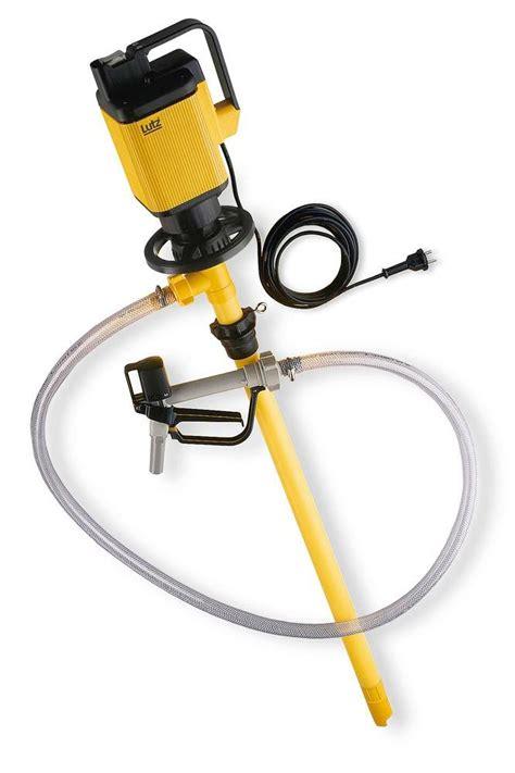 termotecnica dispense pompa elettrica per lo svuotamento di fusti da olio di colza