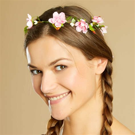 fiori donna corona di fiori donna bianco kiabi 5 00