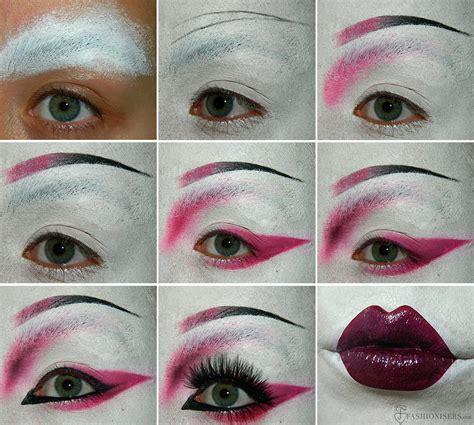 tutorial makeup geisha geisha makeup tutorial for halloween fashionisers