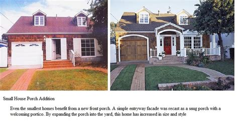 Small Home Additions Before After 71 Best Images About Pretty Porches On Front