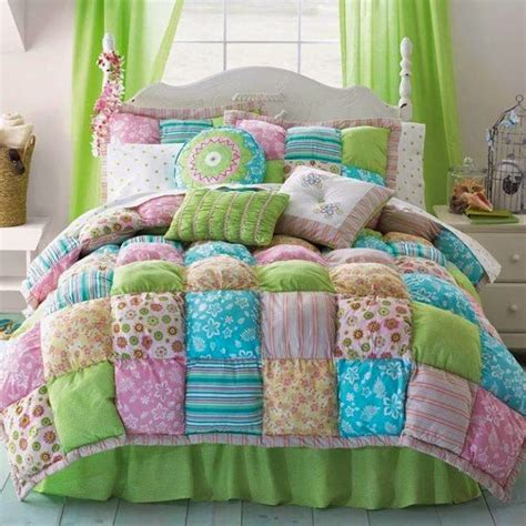 Puff Quilt Comforter by Pillow Block Quilt Do It Yourself Ideas And Projects