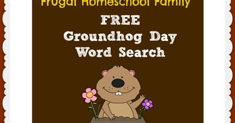 groundhog day phrase free groundhog day word search kid network