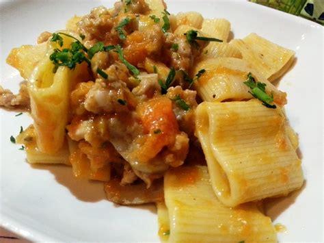 boletus recetas de cocina pasta paccheri con calabaza boletus y salchichas cocina