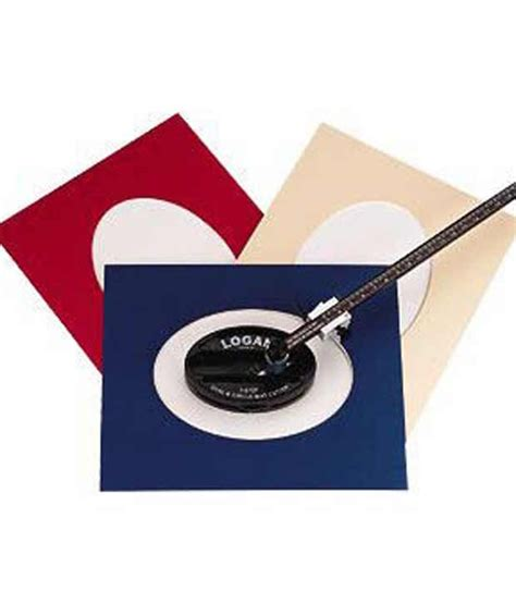 Oval Mat Cutter by Logan Model 201 Oval And Circle Mat Cutter Buy At