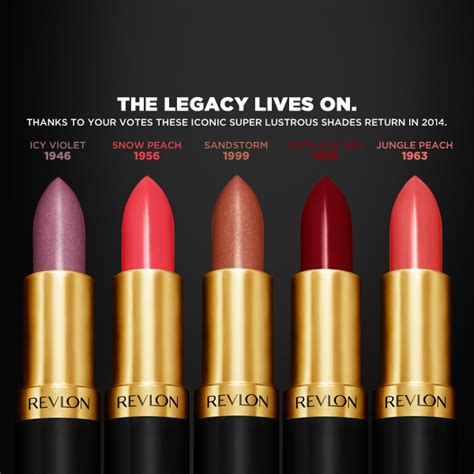 Revlon Limited Edition by Swatches Revlon Limited Edition Vintage Lustrous