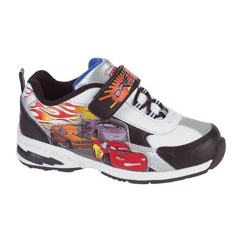 velcro athletic shoes disney toddler boy s cars velcro athletic shoe white