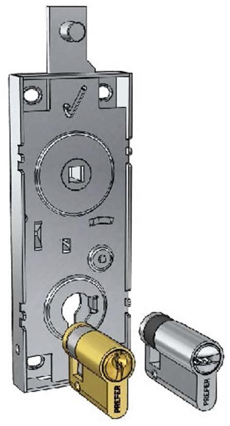 serrature per box auto serratura porta garage pannelli termoisolanti