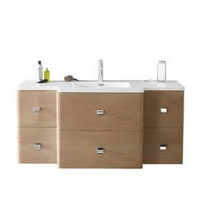 meuble de salle de bains d 233 cor ch 234 ne 130 cm meltem castorama